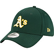 New Era Men's Oakland Athletics Green 39Thirty Clubhouse Stretch Fit Hat
