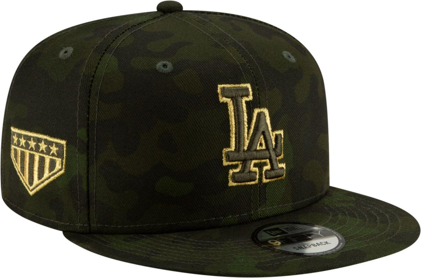 New Era Men's Los Angeles Dodgers 9Fifty Armed Forces Adjustable Snapback Hat