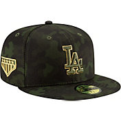 5beadf9903885b Product Image · New Era Men's Los Angeles Dodgers 59Fifty Armed Forces Fitted  Hat