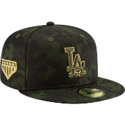 925477bb4adc3a New Era Men's Los Angeles Dodgers 59Fifty Armed Forces Fitted Hat ...