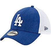 New Era Men's Los Angeles Dodgers Blue 39Thirty Heather Neo Stretch Fit Hat