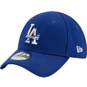 New Era Men's Los Angeles Dodgers 39Thirty Blue Batting Practice Stretch Fit Hat