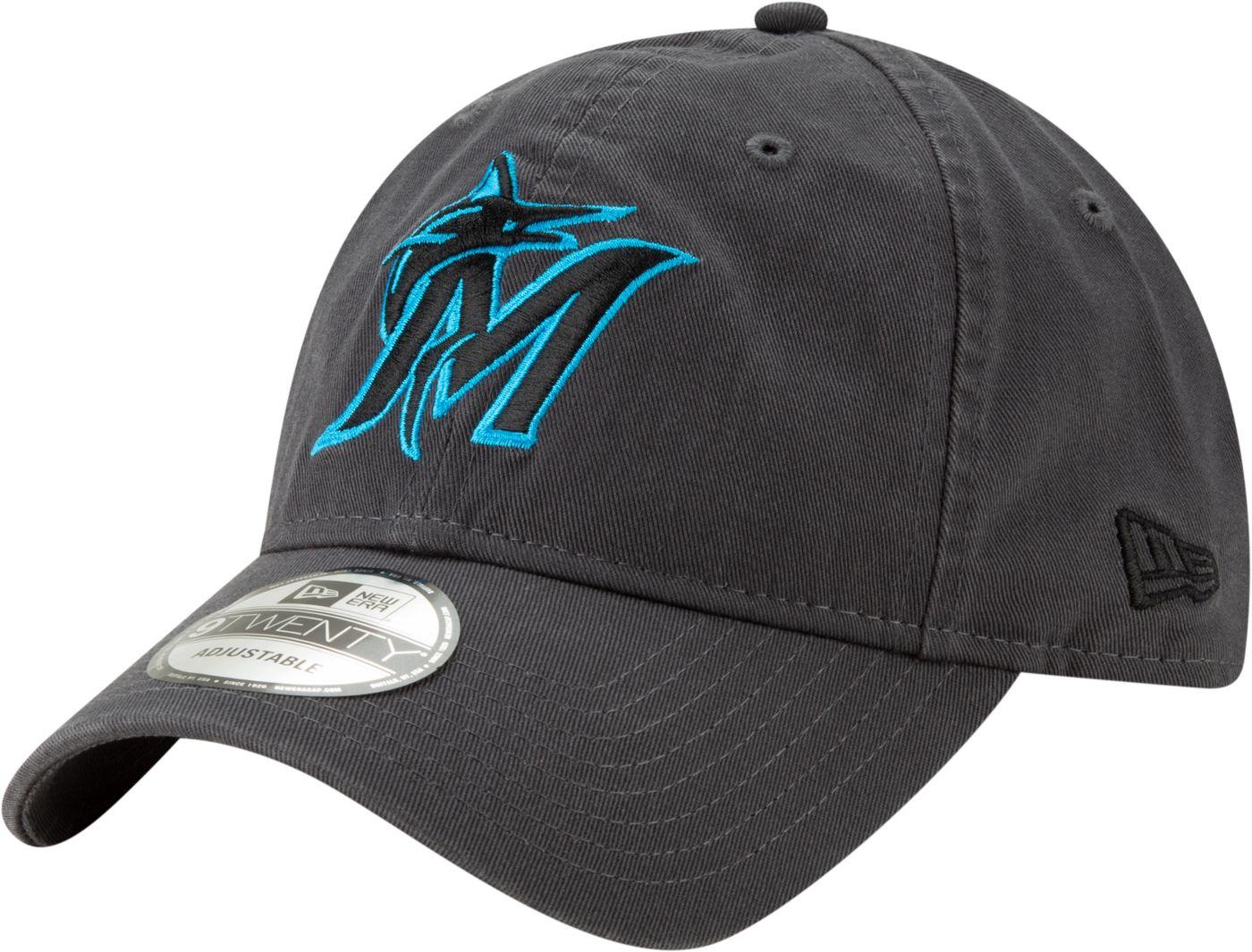 New Era Men's Miami Marlins 9Twenty Adjustable Hat