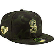New Era Men's Seattle Mariners 59Fifty Armed Forces Fitted Hat