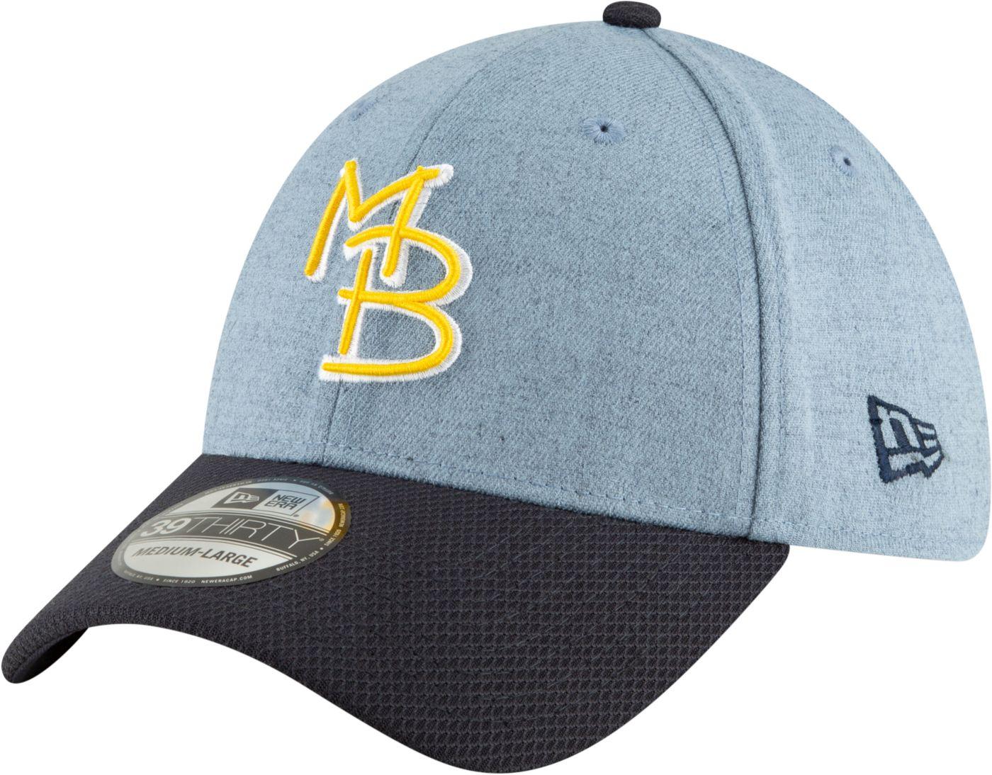 New Era Men's Myrtle Beach Pelicans 39Thirty Stretch Fit Hat