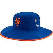New Era Men's New York Mets Blue Basic Bucket Hat