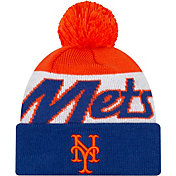 New Era Men's New York Mets Script Knit Hat