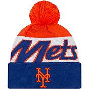 New Era Men's New York Mets Script Knit Hat