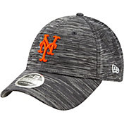New Era Youth New York Mets Gray 9Forty Shadow Neo Adjustable Hat