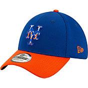 New Era Men's New York Mets 39Thirty Blue Batting Practice Stretch Fit Hat