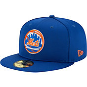 New Era Men's New York Mets Blue 59Fifty Clubhouse Fitted Hat