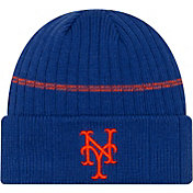 New Era Men's New York Mets Blue Sports Knit Hat