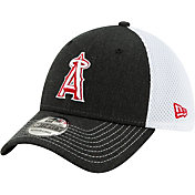 New Era Men's Los Angeles Angels Black 39Thirty Heather Neo Stretch Fit Hat