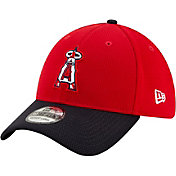 New Era Men's 2020 Spring Training Los Angeles Angels Red 39Thirty Stretch Fit Hat