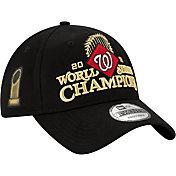 New Era Men's 2019 World Series Champions Locker Room 9Twenty Washington Nationals Adjustable Hat