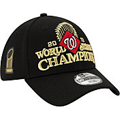 New Era Men's 2019 World Series Champions Locker Room 39Thirty Washington Nationals Stretch Fit Hat