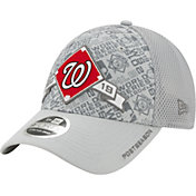 New Era Men's Washington Nationals 2019 LDS Clincher Locker Room 9Forty Adjustable Hat
