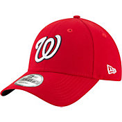 New Era Men's Washington Nationals 9Forty Red League Adjustable Hat