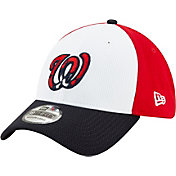 New Era Men's Washington Nationals 39Thirty Red Batting Practice Stretch Fit Hat