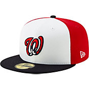 New Era Men's Washington Nationals 59Fifty Red Batting Practice Fitted Hat