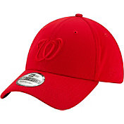 New Era Men's Washington Nationals Red 39Thirty Perftone Stretch Fit Hat