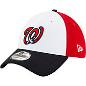 New Era Men's 2020 Spring Training Washington Nationals Red 39Thirty Stretch Fit Hat