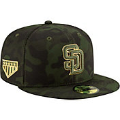 d271d4a5314eaf Product Image · New Era Men's San Diego Padres 59Fifty Armed Forces Fitted  Hat