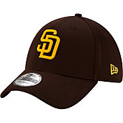 New Era Men's San Diego Padres Brown 39Thirty Clubhouse Stretch Fit Hat