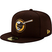 New Era Men's San Diego Padres Brown 59Fifty Clubhouse Fitted Hat