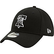 New Era Men's Philadelphia Phillies 39Thirty Black Batting Practice Stretch Fit Hat