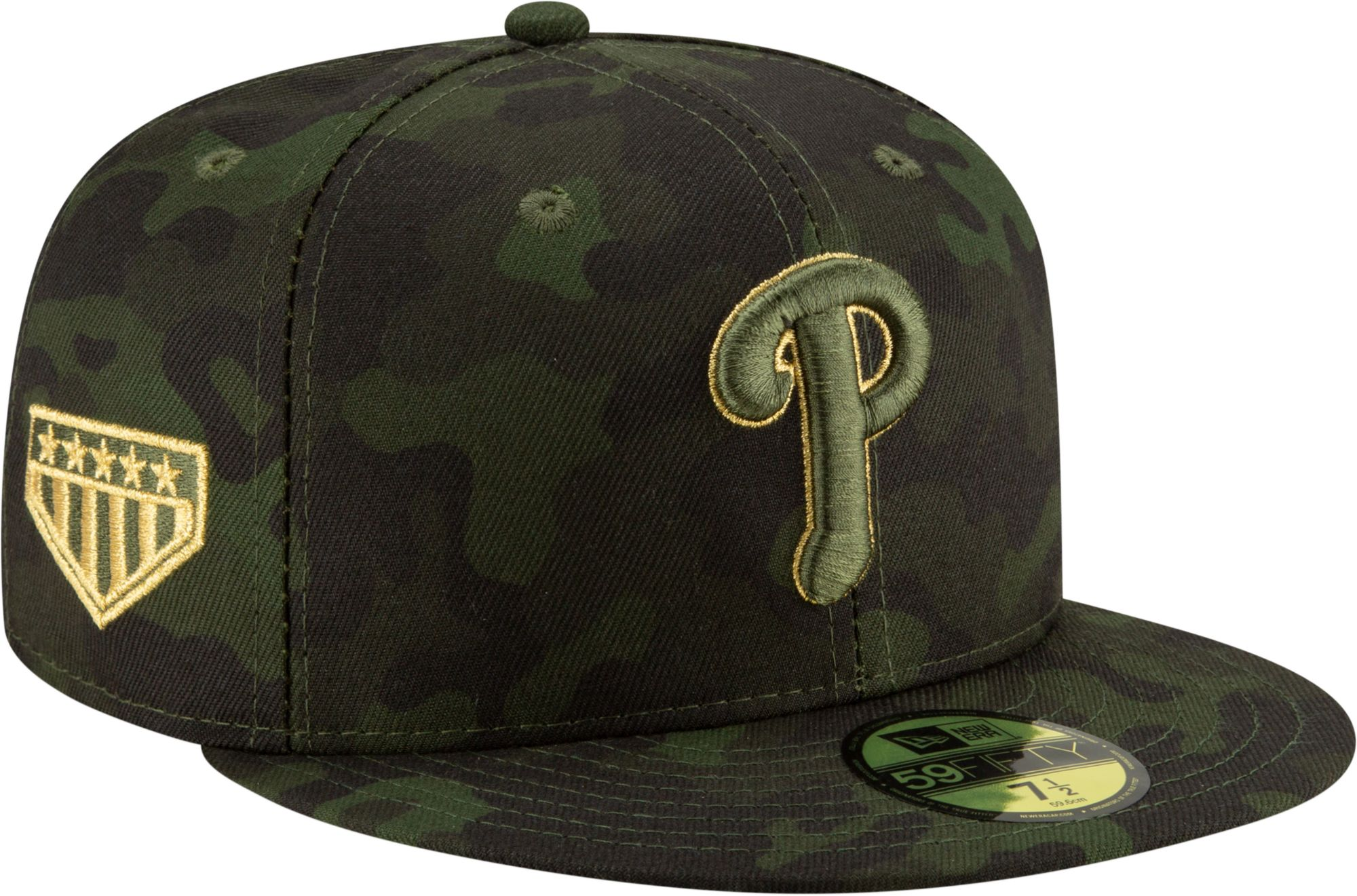 4d62ce1264c17a New Era Men's Philadelphia Phillies 59Fifty Armed Forces Fitted Hat ...