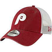New Era Men's Philadelphia Phillies 9Forty Cooperstown Trucker Adjustable Hat