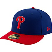 New Era Men's Philadelphia Phillies 59Fifty Alternate Royal Low Crown Fitted Hat