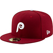 01b96fb9da2 Product Image · New Era Men s Philadelphia Phillies 59Fifty Alternate  Maroon Authentic Hat