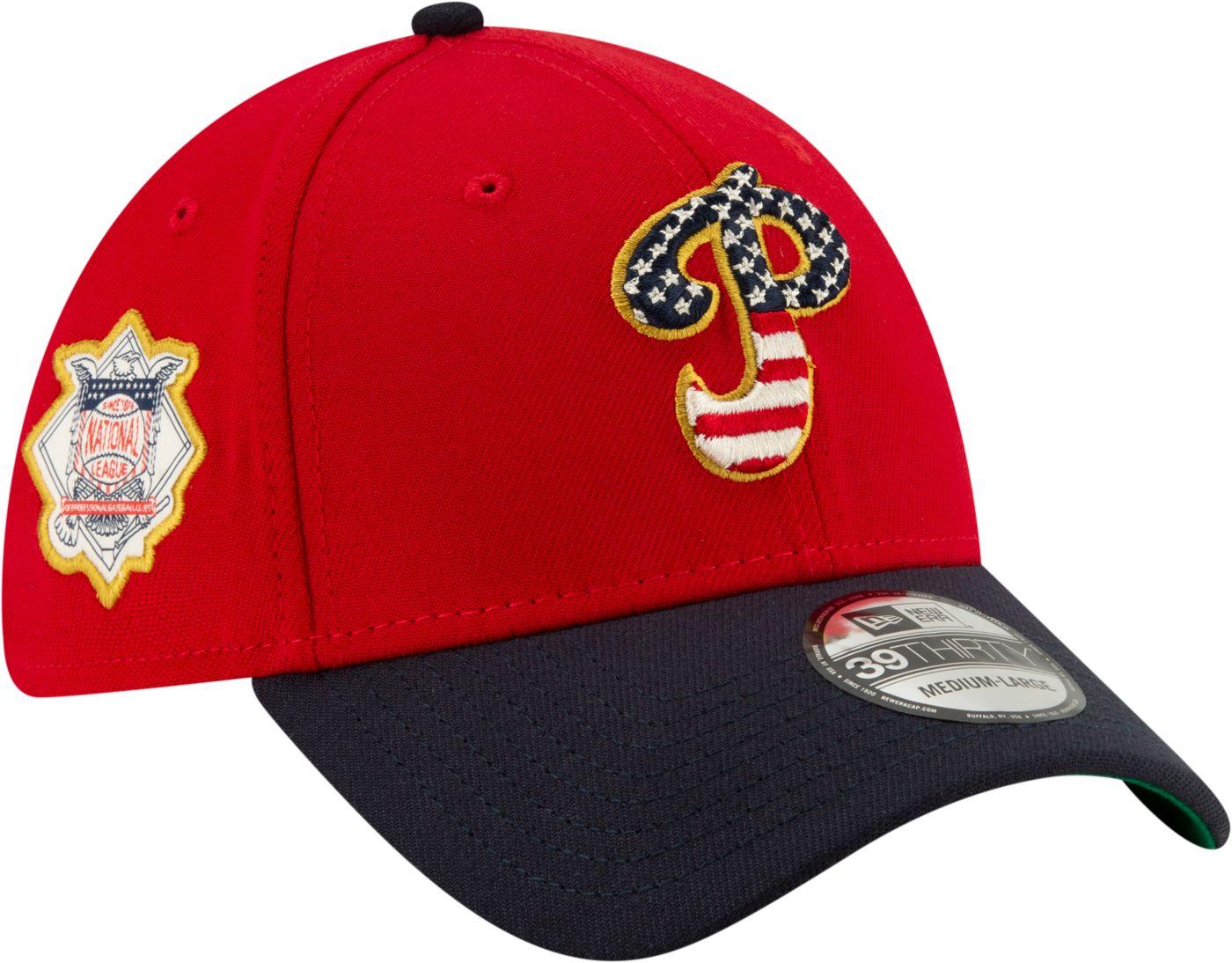 New Era Men's Philadelphia Phillies 39Thirty 2019 4th of July Stretch Fit Hat