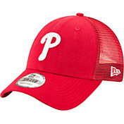 New Era Men's Philadelphia Phillies 9Forty Trucker Adjustable Hat