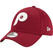 New Era Men's Philadelphia Phillies Maroon 39Thirty Clubhouse Stretch Fit Hat