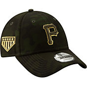 New Era Men's Pittsburgh Pirates 9Forty Armed Forces Adjustable Hat