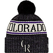New Era Men's Colorado Rockies Sports Knit Hat