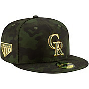 New Era Men's Colorado Rockies 59Fifty Armed Forces Fitted Hat