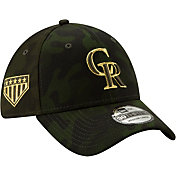 New Era Men's Colorado Rockies 39Thirty Armed Forces Stretch Fit Hat