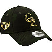 New Era Men's Colorado Rockies 9Forty Armed Forces Adjustable Hat