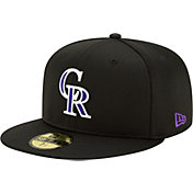 New Era Men's Colorado Rockies Black 59Fifty Clubhouse Fitted Hat
