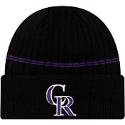New Era Men's Colorado Rockies BLack Sports Knit Hat
