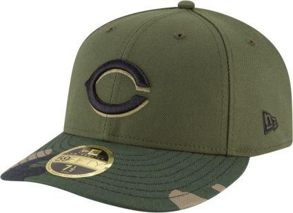 hot sale online 1c7e5 df996 New Era Men s Cincinnati Reds 59Fifty Alternate Camo Low Crown Fitted Hat