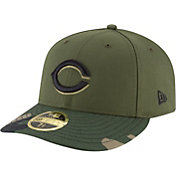 New Era Men's Cincinnati Reds 59Fifty Alternate Camo Low Crown Fitted Hat