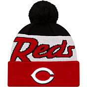 New Era Men's Cincinnati Reds Script Knit Hat