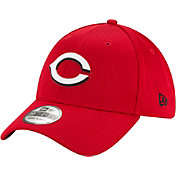 New Era Men's Cincinnati Reds Red 39Thirty Clubhouse Stretch Fit Hat