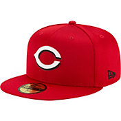 New Era Men's Cincinnati Reds Red 59Fifty Clubhouse Fitted Hat