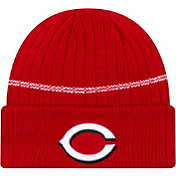 New Era Men's Cincinnati Reds Red Sports Knit Hat
